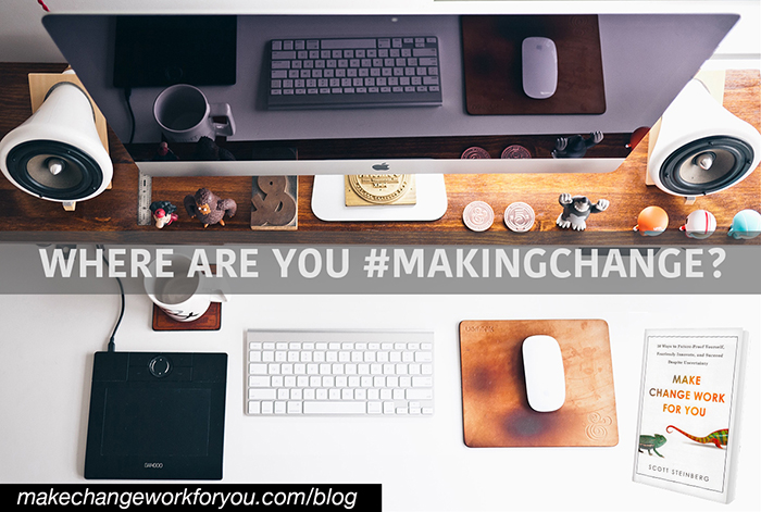 Where are you #MakingChange?