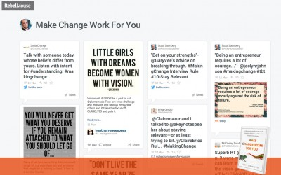 Highlights from our #MakingChange Campaign – See it all on Rebelmouse